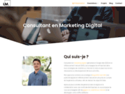 Consultant Marketing Digital & SEO - Léo Marchal