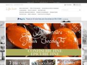screenshot https://www.lepalaischocolathe.fr/ Le Palais ChocolaThé