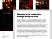 screenshot http://lepassage-neuilly.fr Restaurant lepassage à neuilly