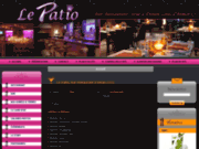 screenshot http://www.lepatio-bar.fr restaurant bar lounge dinan