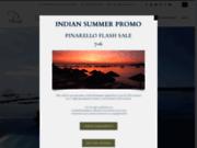 screenshot http://www.lepinarello.com le pinarello : hôtel  4 étoiles à porto vecchio