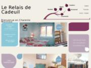screenshot http://www.lerelaisdecadeuil.fr le relais de cadeuil