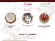 screenshot http://www.leroy-patisseries.fr pâtisseries