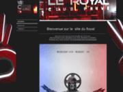 screenshot http://www.leroyal.fr/ le royal, boite de nuit discothèque à nantes