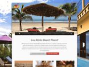 screenshot http://www.les-alizes-hotel.com les alizes beach resort cap skirring / senegal
