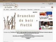 screenshot http://les-bois-flotte.com vente de bois flotté