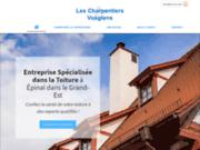 Les Charpentiers Vosgiens à Chavelot pour tous vos travaux de toiture