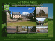 screenshot http://www.les-gites-de-lopeau.fr gites à Locronan