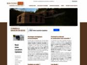 screenshot http://www.les-maisons-en-bois.com Les maisons en bois