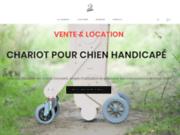 Les Pas Enchantés - chariot pour chien handicapé