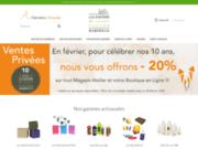screenshot http://www.les-savons-saintvictor.com Savon de marseille