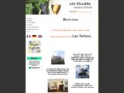 screenshot http://les.telliers.free.fr maison d'hôtes les telliers à reims
