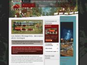 screenshot http://www.lesateliersmontagnarts.com Les Ateliers Montagn'Arts : décoration photo montagne