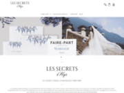 screenshot http://www.lesfairepartdalya.com/ Les Faire-Part D'alya