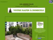 screenshot http://www.lesjardinsdalex.com jardinier-paysagiste-création et entretien d'espaces verts