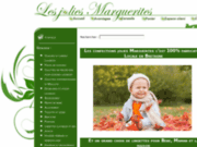 screenshot http://www.lesjoliesmarguerites.fr les jolies marguerites