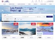 screenshot http://www.leskidunordausud.fr vacances et séjours de ski en france !