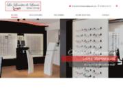 screenshot http://www.leslunettesdelaurie-58.com Les Lunettes de Laurie