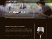 screenshot http://www.lesmoisduvin.com/boutique/ les mois du vin