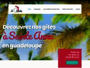 screenshot http://www.lesorchideesdesainteanne.com les orchidées de sainte-anne
