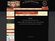 screenshot http://www.lesrecettesgourmandes.com produits régionaux du terroir du sud-ouest