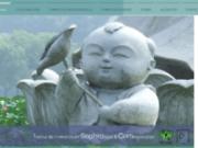screenshot http://www.lesroutesdusoi-sophrologie.com formation de sophrologie