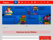 screenshot http://www.lestibidous.fr lestibidous.fr, site pour enfants