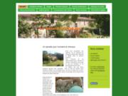 screenshot http://www.lesvignoles.eu gîte et chambres d'hôtes les vignoles