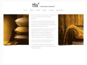 screenshot http://www.letextilefrancais.fr TFA : Textile Français d'Ameublement