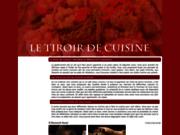 screenshot http://www.letiroirdecuisine.fr/ Ustensiles de cuisine