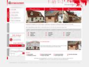 screenshot http://www.leveque-batiment.com rénovation maison en Loir et Cher 41