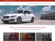 screenshot https://www.levoiturierdaniel.fr/ Le Voiturier Daniel