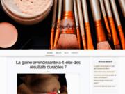 screenshot http://www.lexelcosmetiques.com/ vente de produits cosmétiques lexel cosmétiques