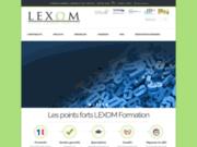 screenshot http://www.lexom.fr lexom solution juridique à taille humaine
