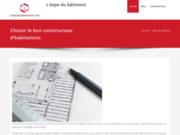 screenshot http://www.lexpodubatiment.com devis travaux d'entreprises du batiment pour construire, rénover, aménager batiment, maison ou appart. forum travaux batiment. immobilier