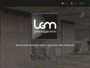screenshot http://www.lgma.fr Aménagement de bureau