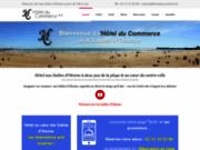screenshot http://www.lhotelducommerce.fr/ hôtel du commerce - les sables d'olonne