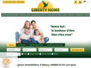 screenshot http://www.libertyhome.fr liberty home l'immobilier en lorraine