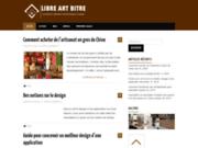 screenshot http://www.libre-art-bitre.com libre-art-bitre