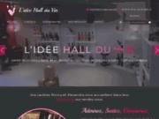 screenshot http://www.lideehallduvin.com L'idée Hall du Vin