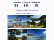 screenshot http://www.lieges-palombaggia.com location de vacances à porto vecchio