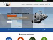screenshot http://www.ligneservice.com téléassistance, centre d'appels toulouse