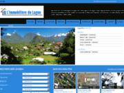 screenshot http://www.limmobiliere-du-lagon.com agence immobilière du lagon la réunion