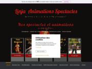 screenshot http://www.linja-spectacle-animation.com/ linja : fakir, échassier, cracheur de feu ...