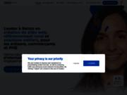 screenshot http://www.linkeo-reims.com/ Agence LINKEO
