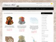 screenshot http://www.lisa-crea.fr graphiste freelance aix-en-provence marseille