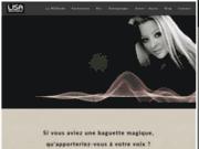 screenshot https://lisabaumann.fr/ Cours de chant sur Paris