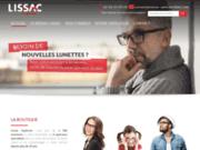 screenshot http://www.lissac-opticien-blois.com BH Optic