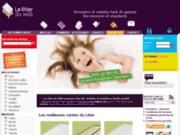 screenshot http://www.lit-matelas.Com le litier du web - fabricant matelas et sommiers