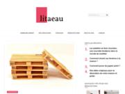 screenshot http://www.litaeau.net la boutique en-ligne du lit à eau, matelas d'eau
